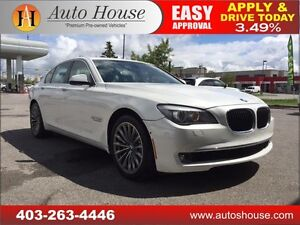 2010 BMW 7 Series 750i xDrive SUNROOF, NAV, BCAM, 90 DAYS NO PYM