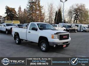 2011 GMC SIERRA 2500HD REGULAR CAB LONG BOX 4X4