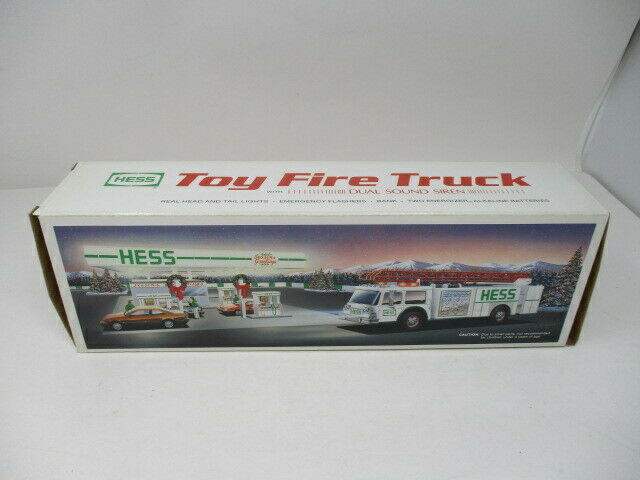 1989 Hess Toy Fire Truck Toy Truck, New