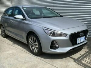2019 Hyundai i30 PD2 MY20 Active Silver 6 Speed Sports Automatic Hatchback North Hobart Hobart City Preview