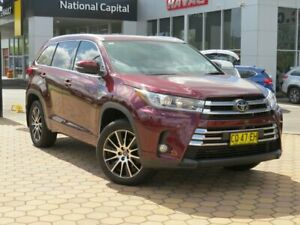 2018 Toyota Kluger GSU50R Grande 2WD Maroon 8 Speed Sports Automatic Wagon Greenway Tuggeranong Preview