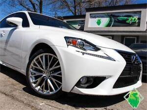 '14 Lexus IS250 Prem AWD+HeatLthr+Roof+BackCam! $184/Pmts!!