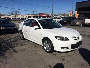 2007 Mazda3 GT, auto, sunroof, alloy,159K, heated seat, warranty