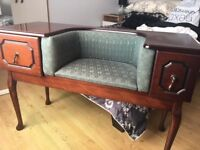 Telephone seat - perfect for up styling