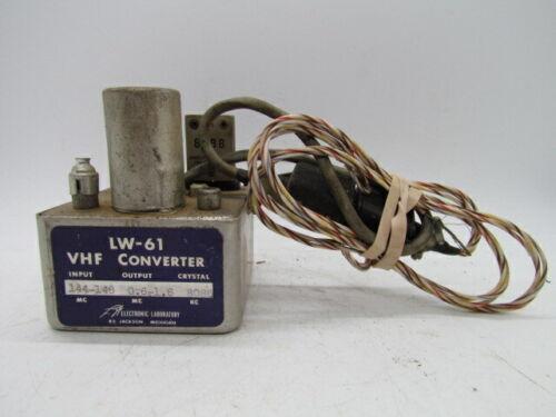 LA Electrical Labratories LW-61 VHF Converter