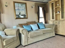 LUXURY STATIC CARAVAN ON EAST YORKSHIRE COAST WITH A FULL SIZE BATH CLOSE TO HORNSEA,BRIDLINGTON