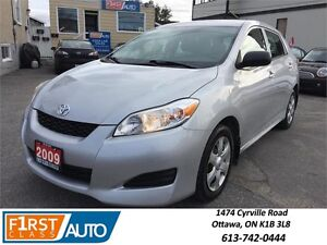 2009 Toyota Matrix - NO ACCIDENTS - GREAT ON GAS! - RELIABLE!