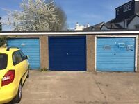 Storage / Garage with roll-over doors to let