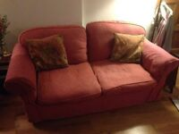 Sofa bed, sofa and armchair going free if you can collect.