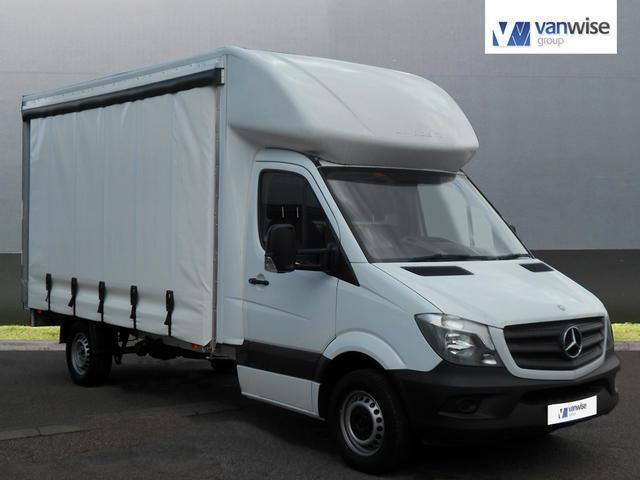 2014 Mercedes-Benz Sprinter 3.5t Chassis Cab Diesel white Manual