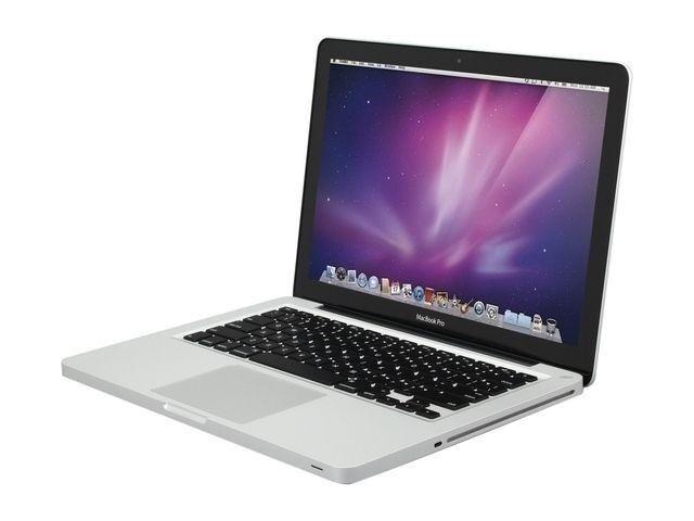 "Apple MacBook Pro 13"" Core i5 Dual-Core Turbo Boost 4GB 500GB HDD iTunes iMovie"