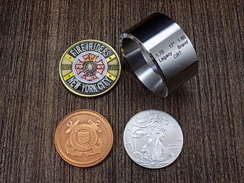 """17 DEGREE MEGA Folding Die (1.7"""" x 1.8"""") for coin rings"""