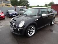 BMW MINI COOPER 'S' 1.6 CHILI PACK~55/2005~STUNNING BLACK~BIG SPEC~SUPERCHARGED