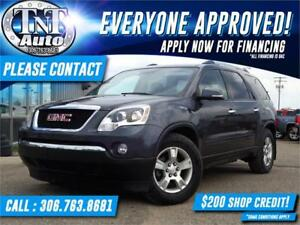 2012 GMC Acadia SLE-2 AWD-BACK UP CAMERA-7 PASSENGER-APPLY NOW!