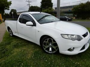 2010 Ford Falcon FG XR6 Ute Super Cab 50th Anniversary White 6 Speed Sports Automatic Utility Moorabbin Kingston Area Preview