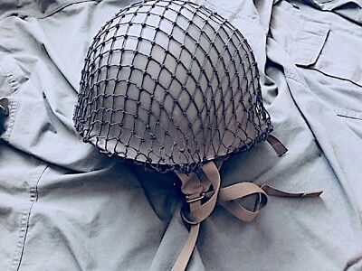 US Army M1 helmet, Steel shell with liner-Genuine - Authentic Military Issue for sale  Montgomery