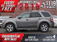 2010 Ford Escape Limited 4x4-V6-Leather-Sunroof-120000KM