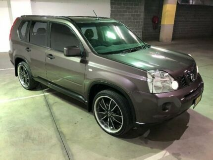 2010 Nissan X-Trail T31 ST Brown Constant Variable Wagon Woodbine Campbelltown Area Preview
