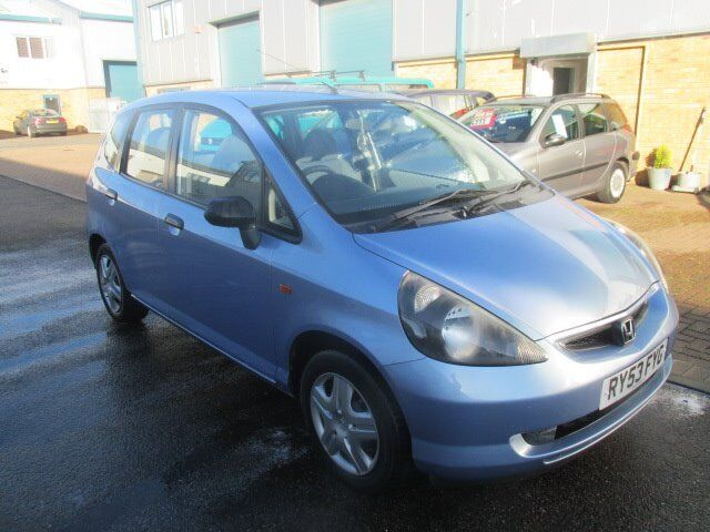 honda jazz 2003 53,reg 1.4 petrol 5dr blue long mot very good condition £995 no offers px/welcome