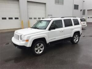 2011 jeep patriot 4x4 financing and trade welcome