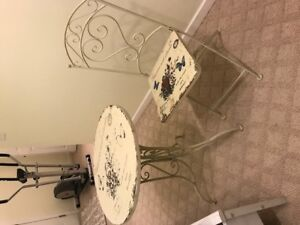 Antique Artistic Table and Chair