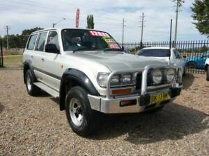 Toyota Landcruiser 80 Series GXL 4X4 4.5 6cyl 5spd Wagon Low kms