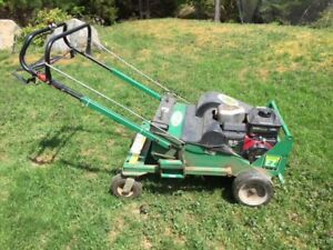 Aeration, labor and lawn mowing services