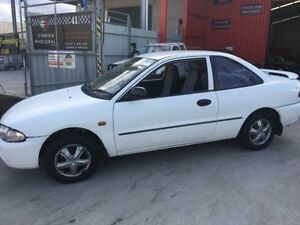 1995 Mitsubishi Lancer CC White Manual Coupe Clontarf Redcliffe Area Preview