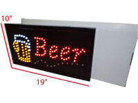 Business_Led Signage: Bar Sign, OPEN Signs & Atm Ship FREE..$44: