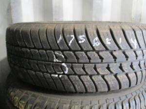 175/65R14 SINGLE ONLY USED MOTOMASTER A/S TIRE
