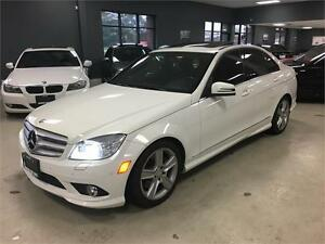 2010 Mercedes-Benz C-Class C300 4MATIC*LEATHER*SUNROOF*