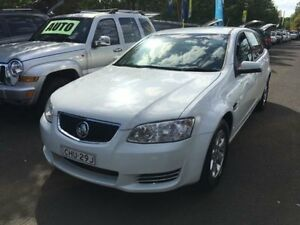 2012 Holden Commodore VE II MY12 Omega White 6 Speed Automatic Sportswagon Campbelltown Campbelltown Area Preview