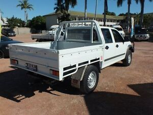 2012 Isuzu D-MAX MY11 SX Alpine White 5 Speed Manual Cab Chassis Rosslea Townsville City Preview