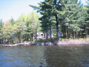 Boat Access Cottage on French River (Four Mile Island)