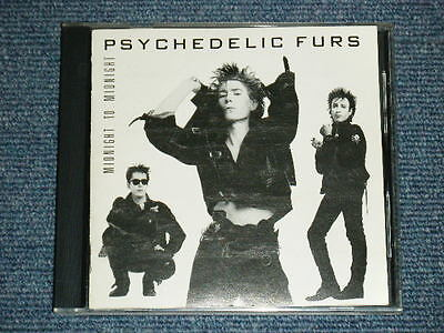 PSYCHEDELIC FURS Japan 1987 Original NM CD MIDNIGHT TO MIDNIGHT