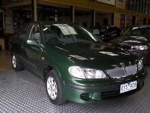 2001 Nissan Pulsar N16 ST Green 4 Speed Automatic Sedan South Melbourne Port Phillip Preview
