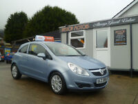 2009 VAUXHALL CORSA 1.3 CDTI GROUP 3 INS £30 TAX ,, ALL CREDIT/DEBIT CARDS ACCEPTED