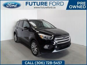 2018 Ford Escape Titanium | AWD | Leather | Sunroof | Ford Pass