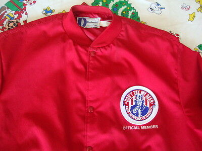 Vintage Beer Drinkers Of America Official Member Uncle Sam Jacket Mens Size Xl