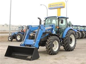 2016 New Holland T4.120 DC - 115hp Dlx. Tractor with Loader