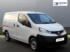 2013 Nissan NV200 1.5 dCi 89 SE Van Diesel white Manual