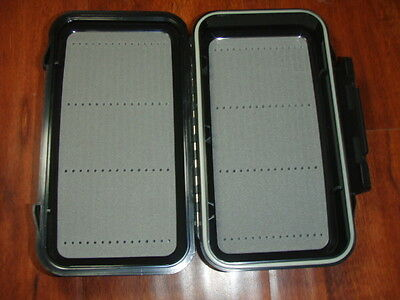 Slotted Foam Fly Box - Waterproof Large Fly Box Slotted Foam Steamers/Dry/Nymph 7 3/4 by4 1/2 C&F Style