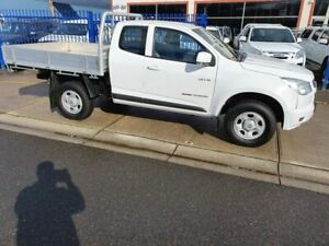 2013 Holden Colorado RG MY14 LX (4x4) White 6 Speed Manual Space Cab Chassis Dandenong Greater Dandenong Preview