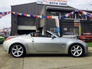 2004 Nissan 350Z Z33 Roadster 5 Speed Automatic Convertible