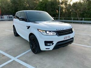 2015 Land Rover Range Rover LW Sport 3.0 TDV6 SE White 8 Speed Automatic Wagon Morayfield Caboolture Area Preview