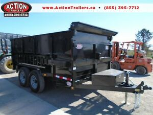 Mobile Dumpster 7 x 12' with 4' high sides -7 ton -Pay 193 month London Ontario image 1