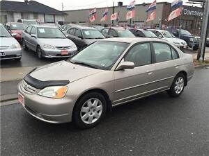 2002 Honda Civic LX-G*** Certified & E-Tested***No Accident**
