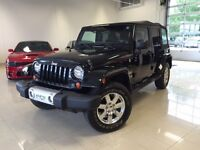 2012 Jeep Wrangler Unlimited SAHARA NOIR 4X4 NAV UNLIMITED GPS