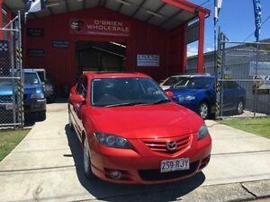 2005 Mazda 3 BK1031 SP23 Red 5 Speed Manual Sedan Clontarf Redcliffe Area Preview