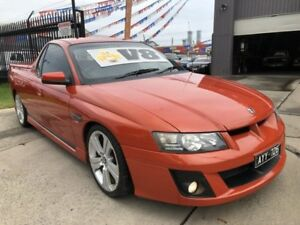 2006 Holden Special Vehicles Maloo Z Series Ignition Orange 4 Speed Automatic Utility